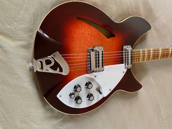 1968 Rickenbacker OS 360 Fireglo