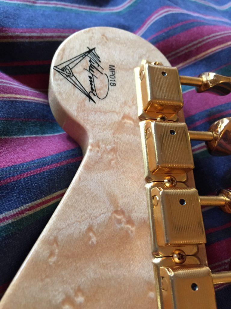 Fender MasterBuilt Strat Detail