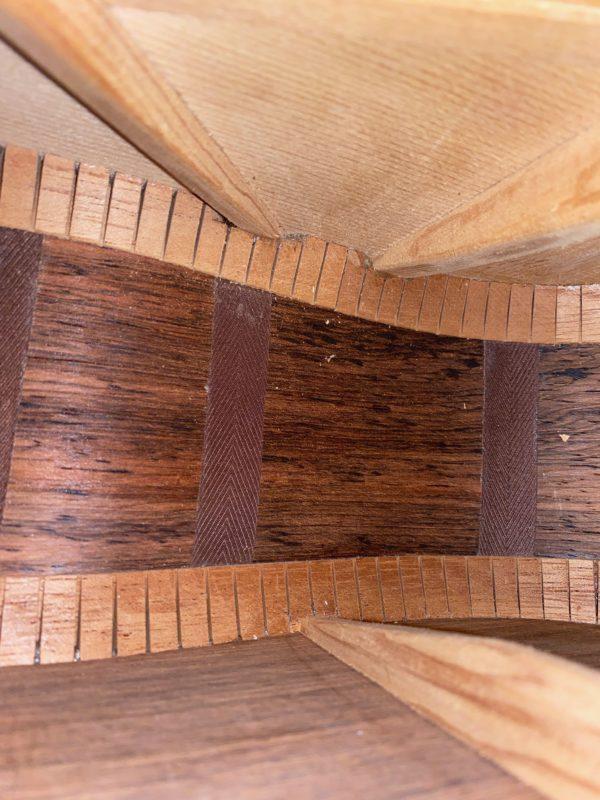 Inside 1963 Martin D-28 Guitar