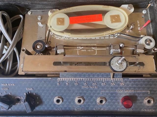 1970s Echoplex Maestro ep3 Tape Analog