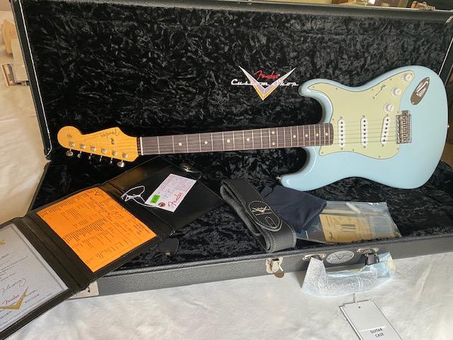 2019 Fender Custom Shop Wildwood 10 Stratocaster Sonic Blue