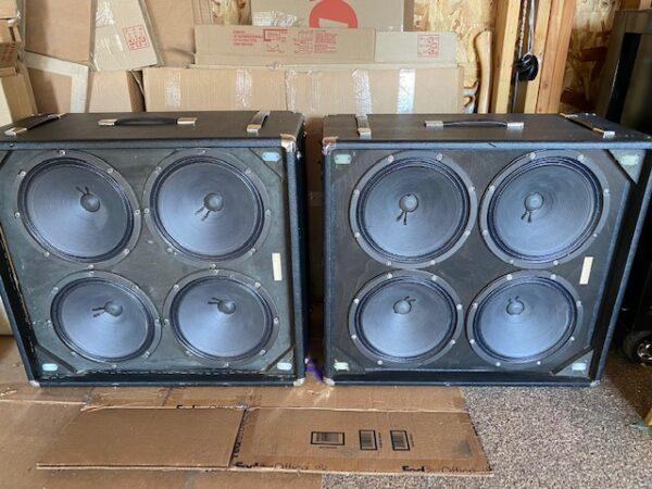 1974 Ampeg V4 100 Watt head w matching V4 cabinets